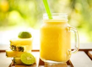 smoothie ananas citron vert